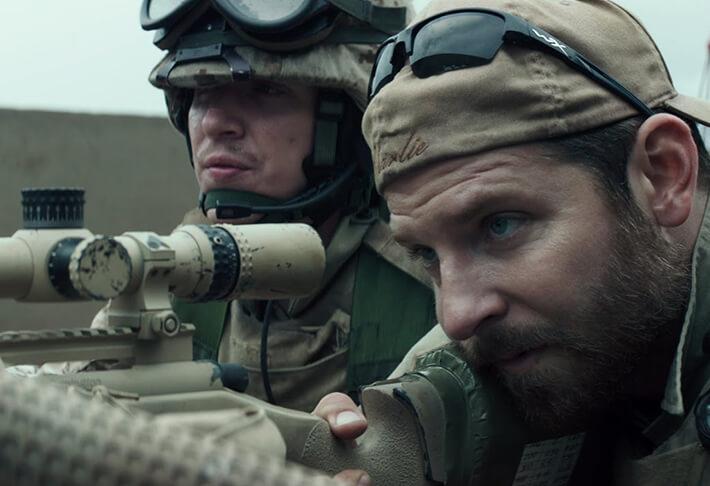 Perché American Sniper ha un montaggio simbiotico