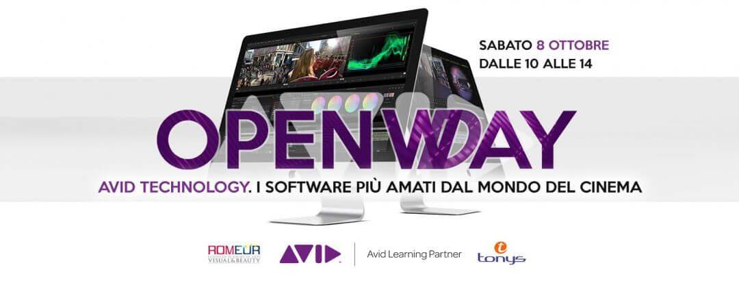 OPENDAY AVID Technology (2 seminari gratuiti)
