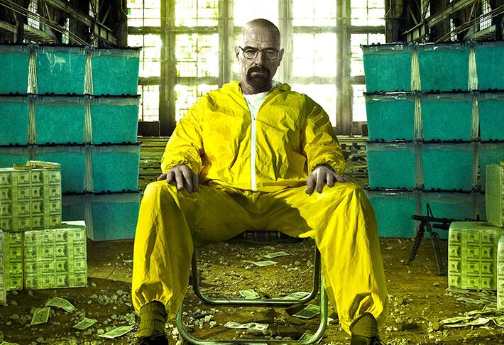 Creare la 'chimica' in sala di montaggio. Breaking Bad
